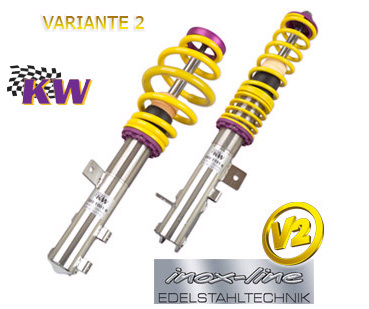 SUSPENSION REGULABLE KW VARIANTE 2 INOX BMW E46