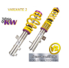 SUSPENSION REGULABLE KW VARIANTE 1 INOX SKODA FABIA