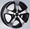 LLANTAS BORBET CC GLOSS BLACK + FULL POLISHED + BRUSH