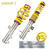 KIT SUSPENSION KW V2 INOX SEAT IBIZA (6L) 02/02-